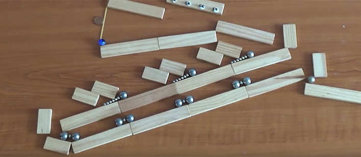 Magnets-and-marbles