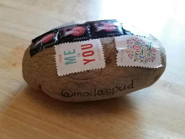 Mail a potato from mail a spud