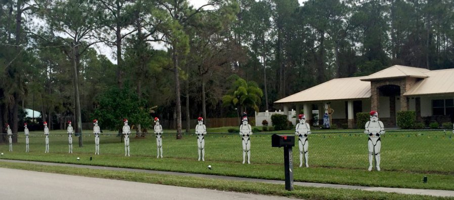 star wars lawn ornaments 1 let the force be with you your lawn and your neighbors