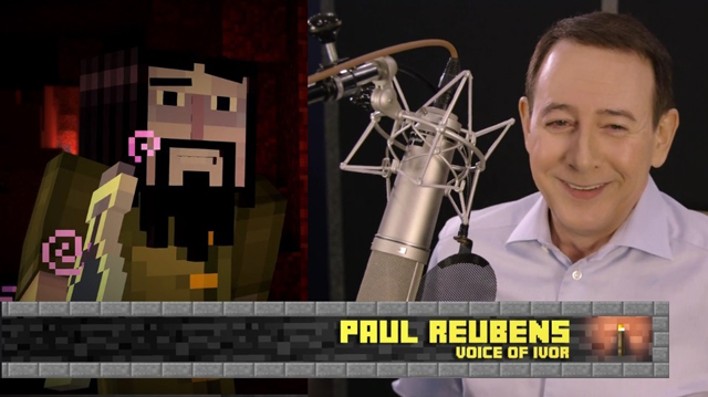Paul Reubens Talks About Voicing Ivor For Minecraft Story Mode