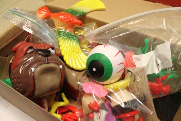Pee-wee Herman bicycle helmet toys