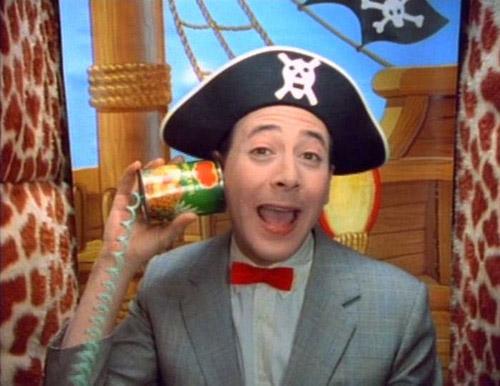 Pee-wee Herman picturephone