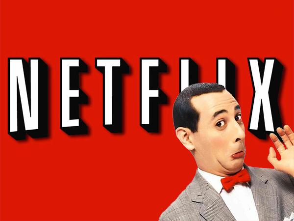 Pee wee & Netflix