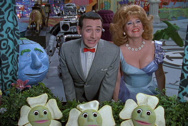 Pee-wee and Miss Yvonne