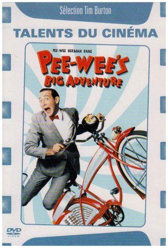 Pee-wees Big Adventure French Italian Spanish DVD