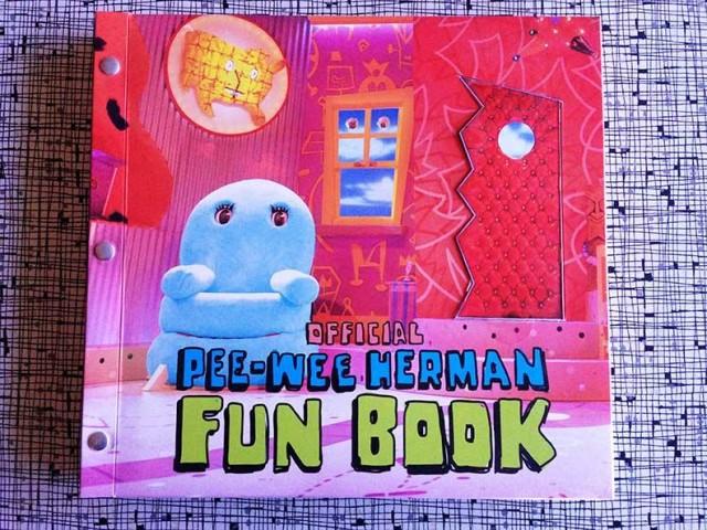 Pee-wee Herman Fun Book