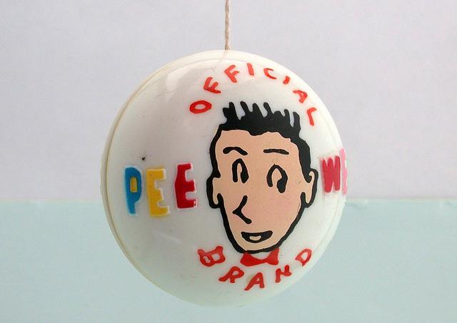 Pee-wee Herman yoyo vintage