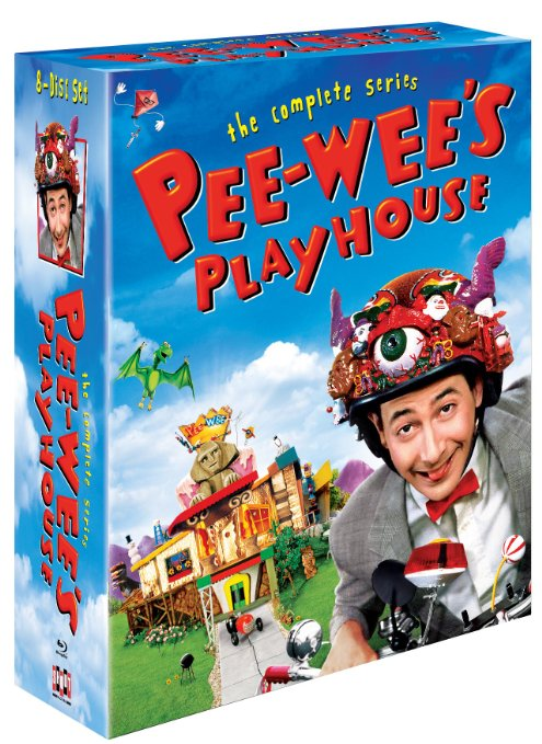 Peewees Playhouse complete series bluray