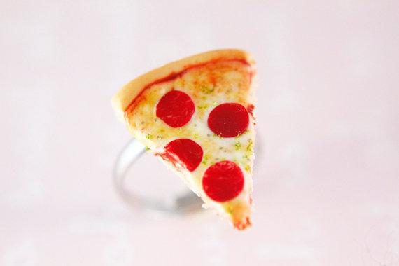 Pepperoni slice ring