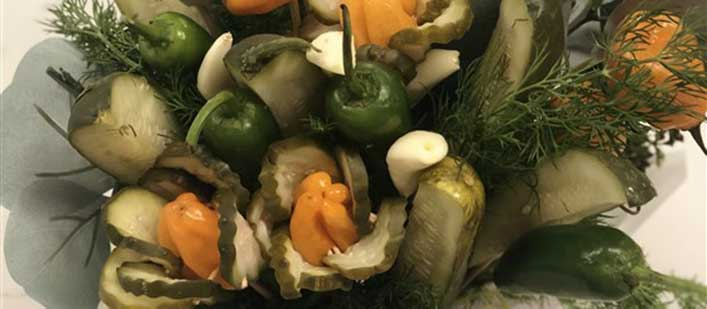 PICKLE BOUQUETS!! FOR VALENTINE'S DAY!!