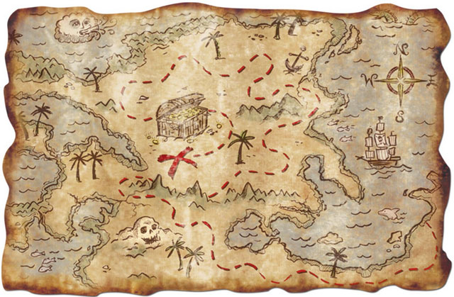 Pirate-Treasure-Map