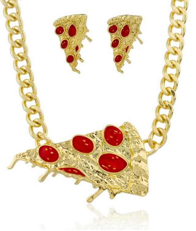 Pizza-jewelry-set