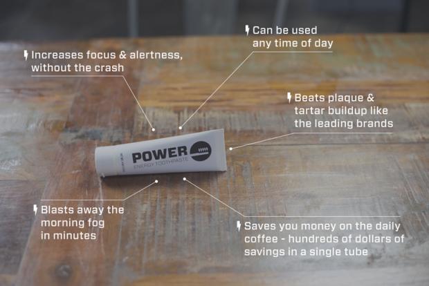 Power toothpaste