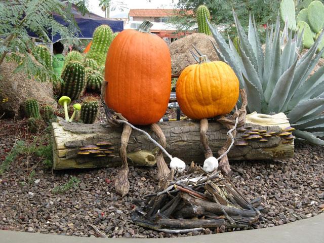 Ray Villafane 39 S Enchanted Pumpkin Garden In Carefree Arizona Pee Wee 39 S Blog