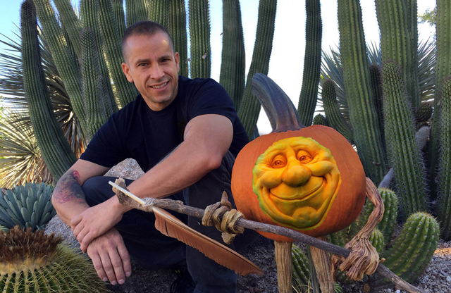 Ray-Villafane-and-pumpkin