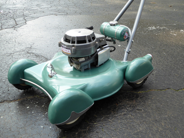 Retro-lawnmower