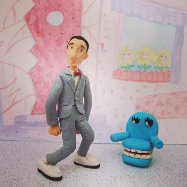 Play-Doh art by Anny Yi