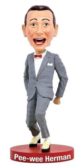Pee-wee Herman bobblehead