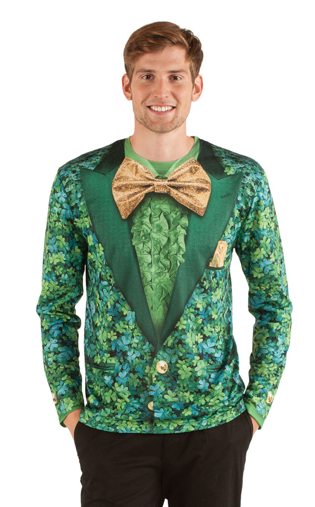 shamrock suit front