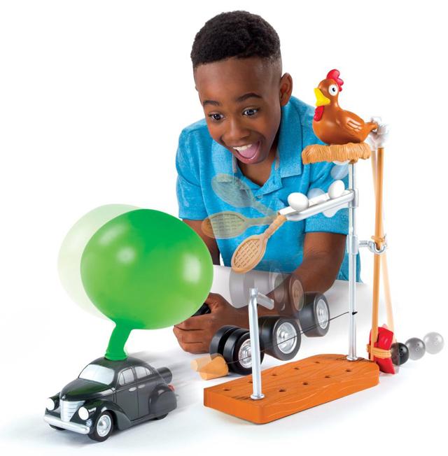 Speeding-Car-Challenge-Rube-Goldberg