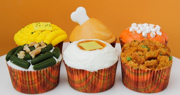 Thanksgiving dessert cupcakes