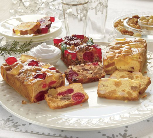 Three-kinds-of-Fruitcake-from-Swiss-Colony