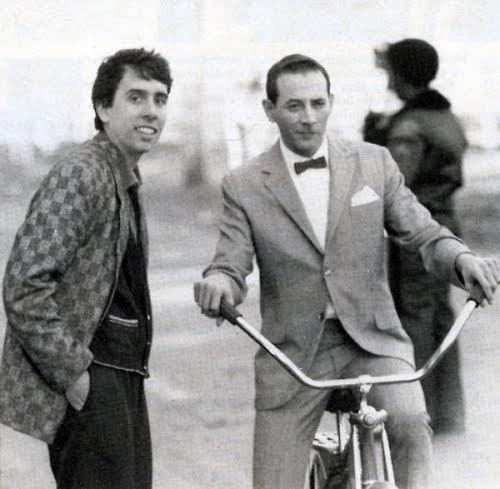 Tim Burton and Pee-wee Herman on PWBA