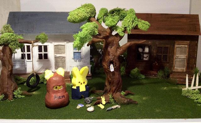 Peeps see who won the 2015 peeps diorama contest tokillapeepingbird fandeluxe Images
