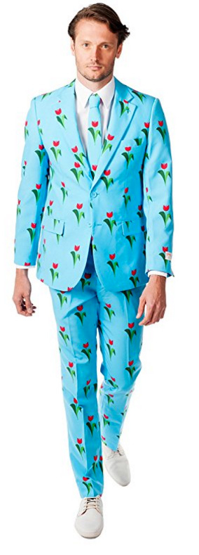 Spring suit: Tulips from