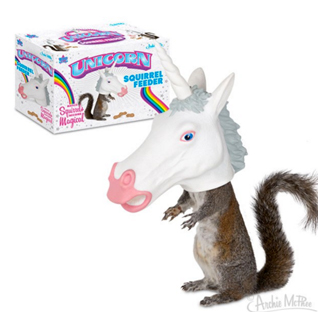 Unicorn-Squirrel-Feeder