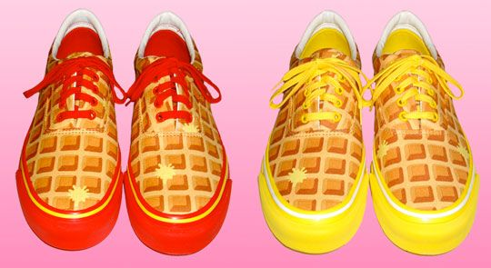 Waffle sneakers