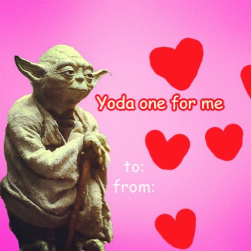 YODA ONE FOR ME Pee Wees Blog