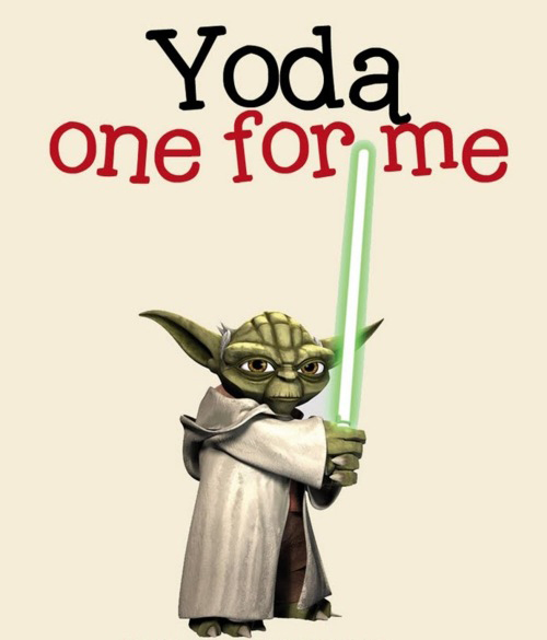 Yoda One For Me Pee Wee S Blog