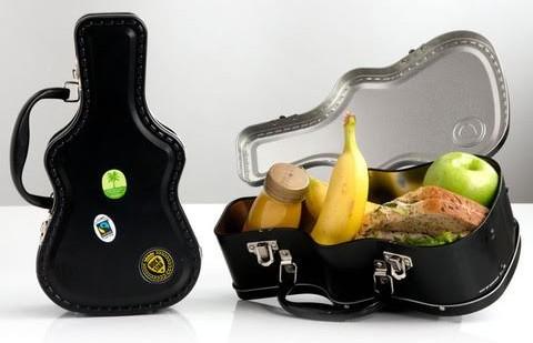 guitar rock lunch