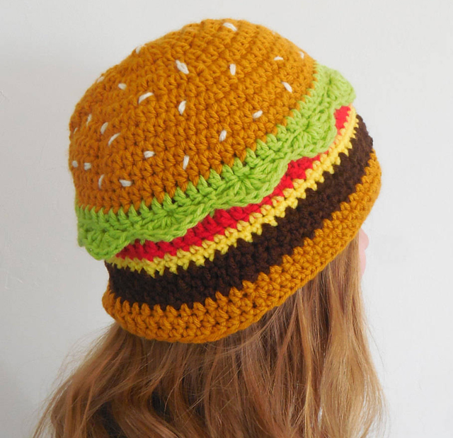 hamburger-crocheted-hat