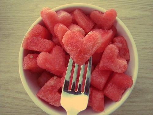 heart shaped food #1