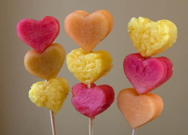 heart shaped food #17
