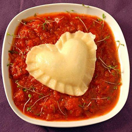 heart shaped food #6