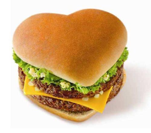 heart shaped food #7