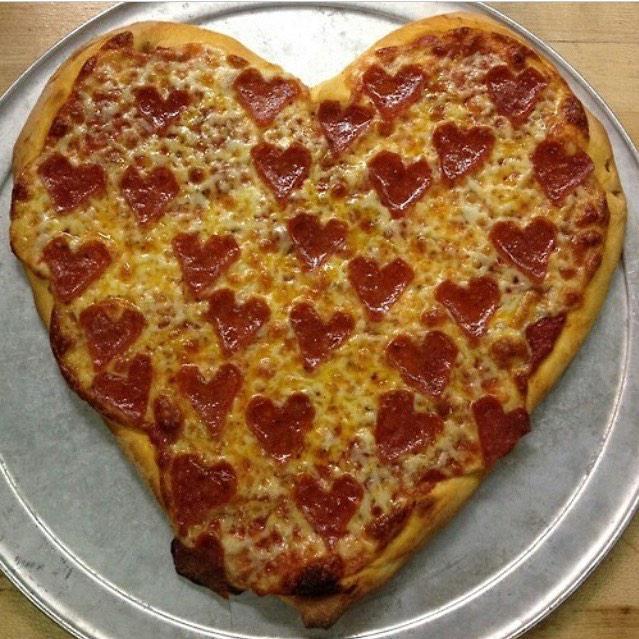 heart shaped food #9