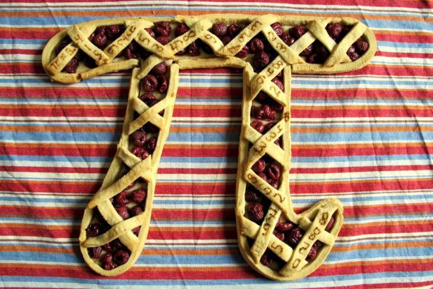 hertzgamma pie shaped pie