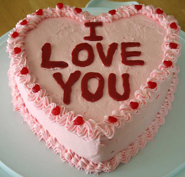 Love Shape Cake Images : HEART-SHAPED FOOD FOR VALENTINES - Pee-wee s blog