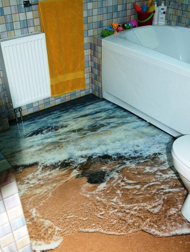 Interior Design Ideas Ocean Epoxy Polimer Floors