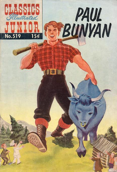 paul bunyan kids book