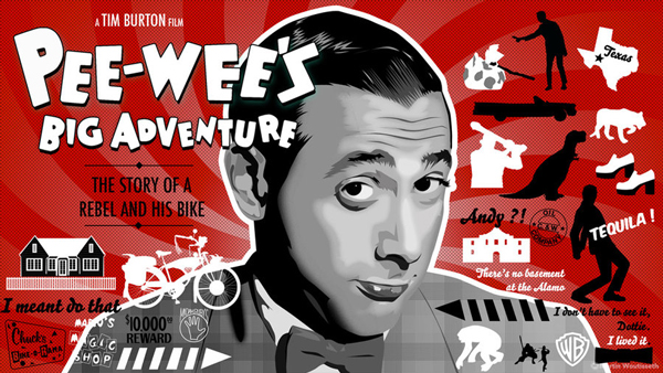 Pee-wee's big adventure by Martin Woutisseth