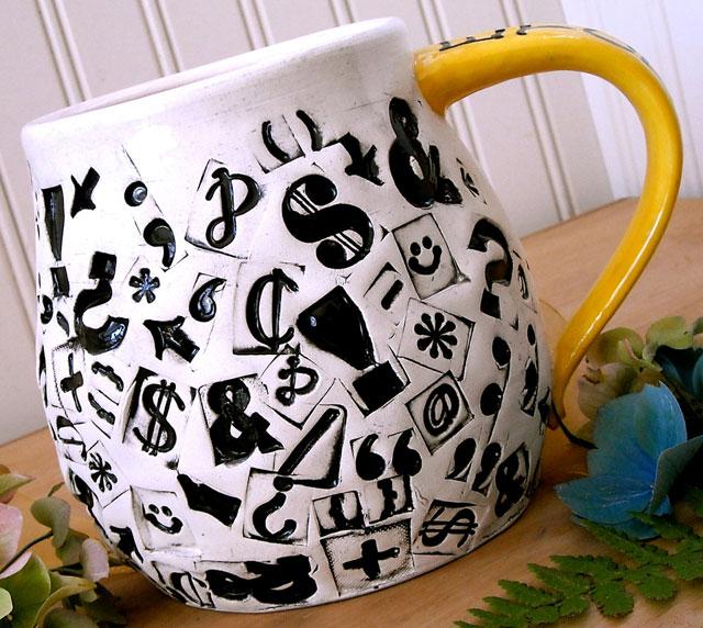 punctuation-mug