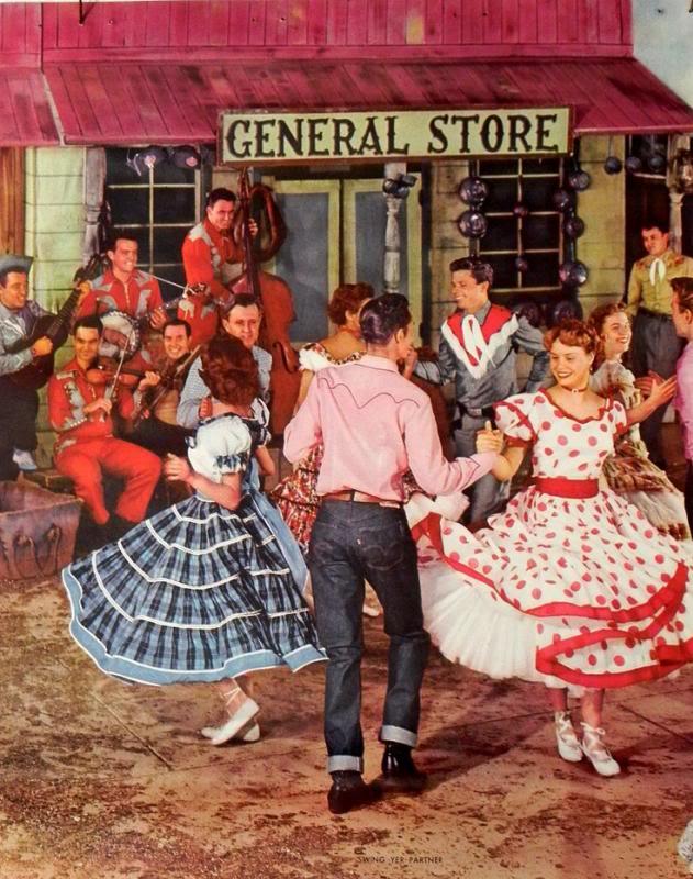 square-dancing