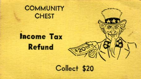 tax refund monopoly