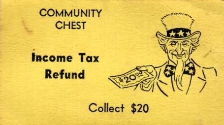 tax refund monopoly