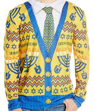 ugly-Hanukkah-sweater-cardigan-Faux-Real